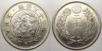 Japan 20 Sen 1899 Stempelglanz Mutsuhito 1867-1912. 75,00 EUR Tax included +  shipping