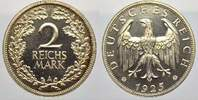 Weimarer Republik 2 Reichsmark 1925  A Polierte Platte  700,00 EUR Tax included +  shipping