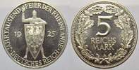 Weimarer Republik 5 Reichsmark 1925  A Polierte Platte  495,00 EUR Tax included +  shipping