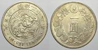Japan Yen 1890  YR Fast stempelglanz Mutsuhito 1867-1912. 300,00 EUR Tax included +  shipping