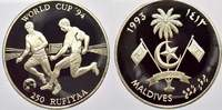 Malediven 250 Rufiyaa 1993 Polierte Platte Republik der Malediven seit 1... 25,00 EUR Tax included +  shipping