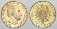 Preußen 2 Mark 1883  A Winz. Kratzer in Avers. Polierte Platte Wilhelm I... 2250,00 EUR Tax included +  shipping