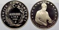Türkei 4000000 Lira 1999 Polierte Platte Republik seit 1921. 35,00 EUR Tax included +  shipping