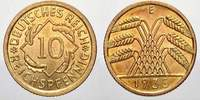 Weimarer Republik 10 Reichspfennig 1935  E Feinste stempelglanz  30,00 EUR Tax included +  shipping